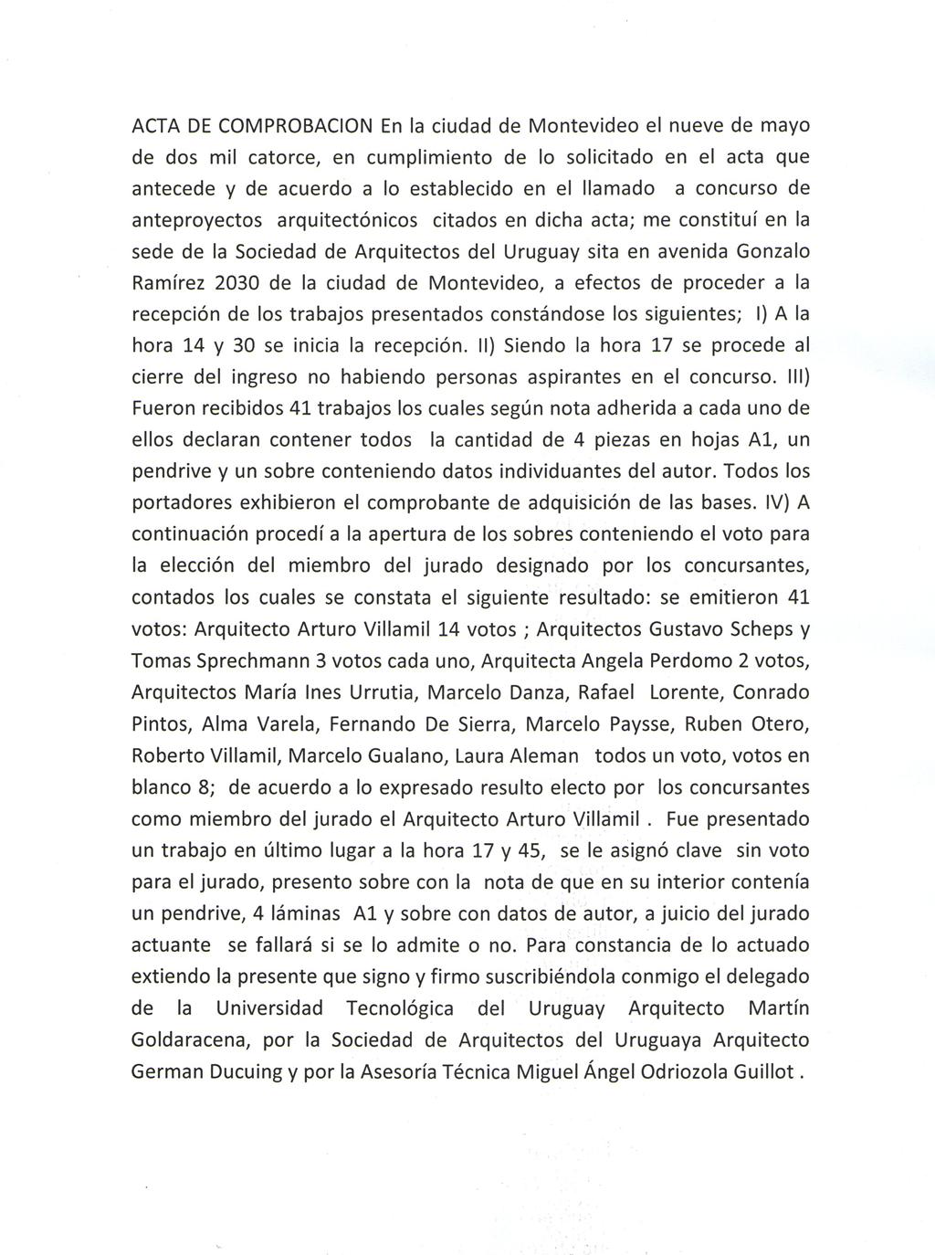 Concurso p blico anteproyectos arquitect nicos sede itr fray bentos sociedad de arquitectos - Sociedad de arquitectos ...